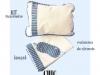 Kit travesseiro unissex